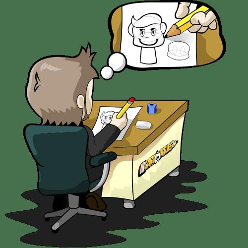 cartoon laten tekenen