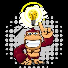 logomonkey-cartoon-monkey-idee