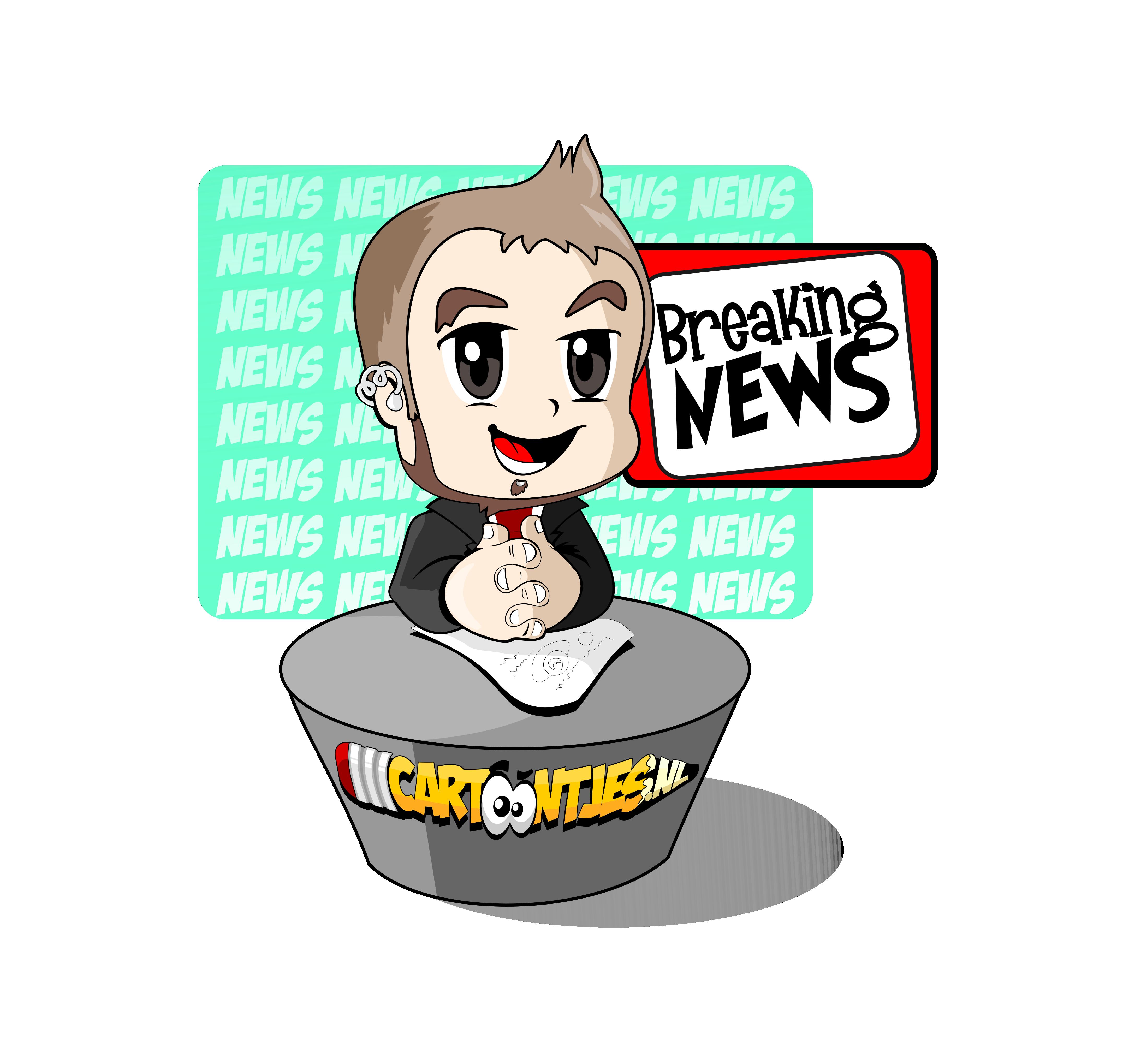 Cartoon-nieuws