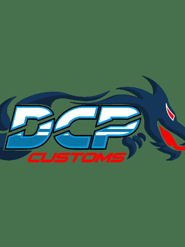 dcp customs logo ontwerp