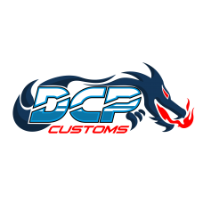 dcp customs logo ontwerp