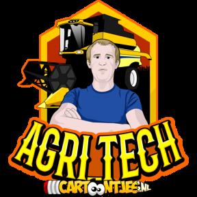 Agri tech logo ontwwerp