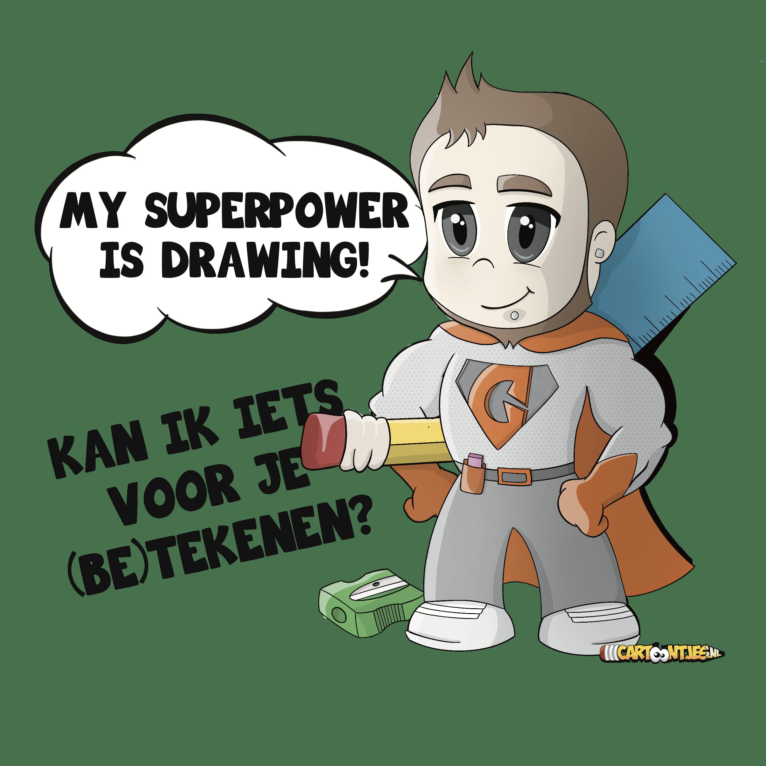 cartoon-laten-maken-superheld
