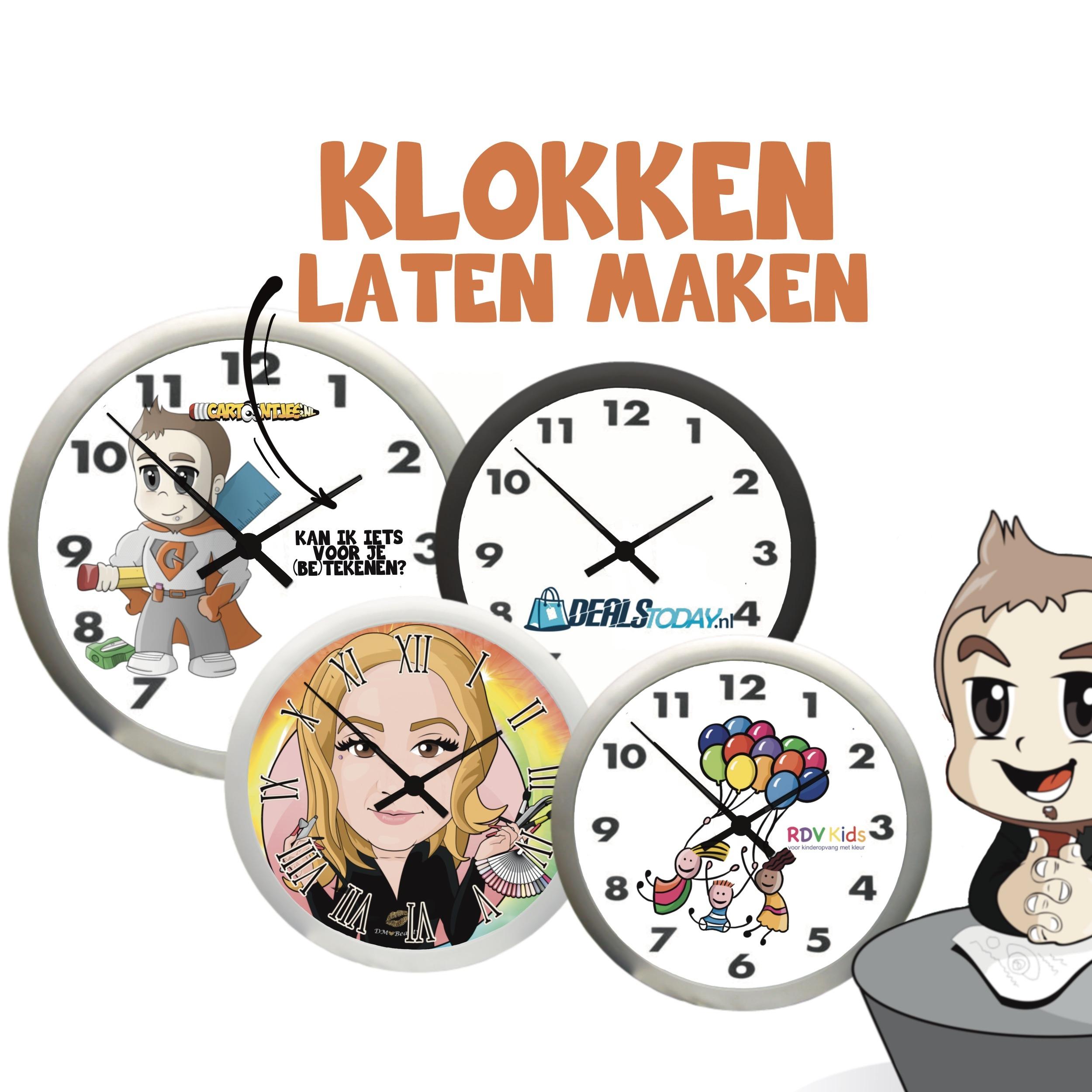 klok laten maken
